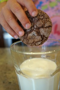gluten-free chocolate crackle cookie