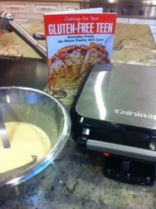 gluten-free teen waffle berghoff