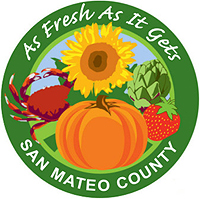 As Fresh As It Gets San Mateo County Graphic