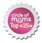 Circle of Moms Top 25 Badge