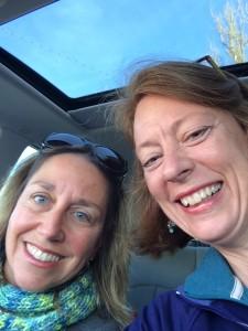 Nadine Grzeskowiak and Amy Fothergill