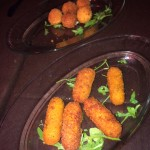 Arancini and croquettes at Mama Eat