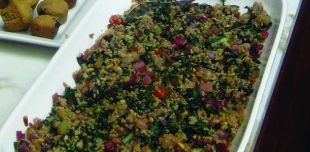 chard quinoa salad