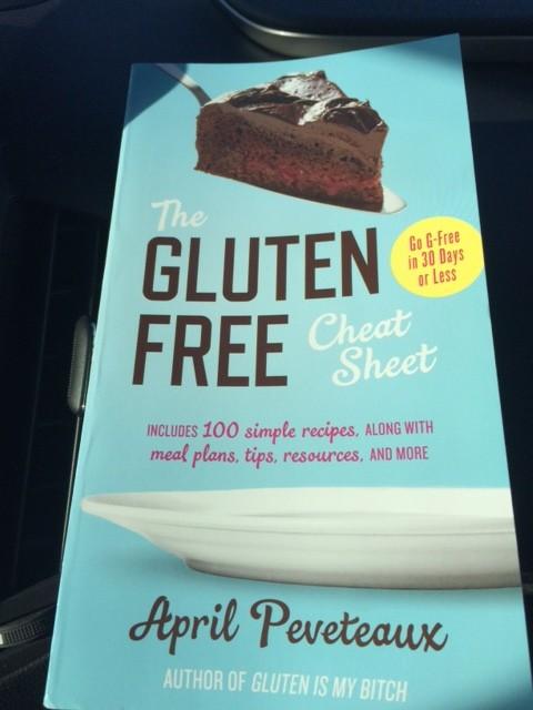 Gluten-Free Cheat Sheet book