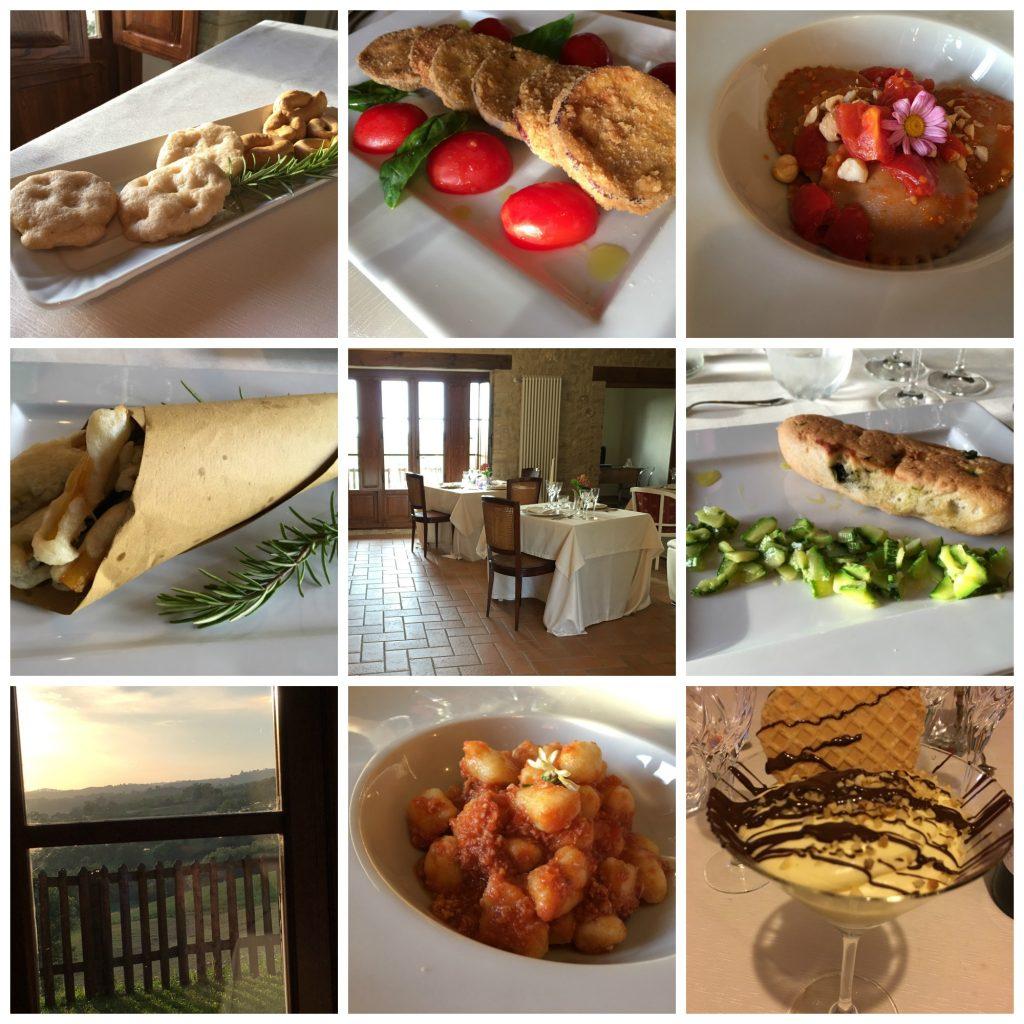 gluten free hotel italy dinner