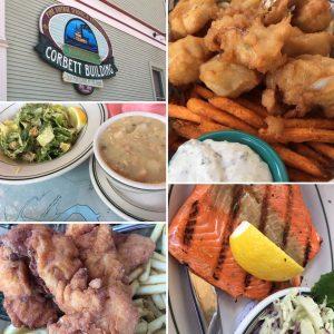 Corbett Fish House gluten free