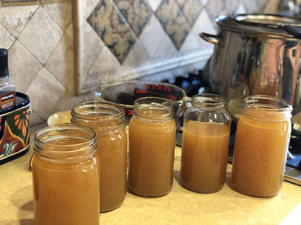 how to make chicken bone broth