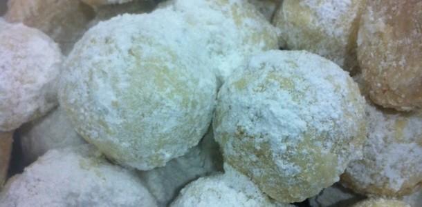 gluten free Mexican wedding cookie