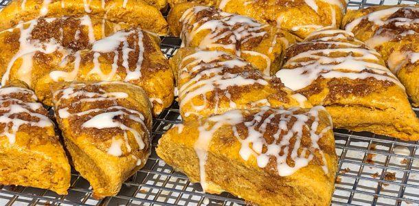 gluten free pumpkin scone