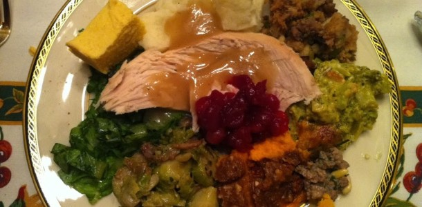 gluten-free holiday meal