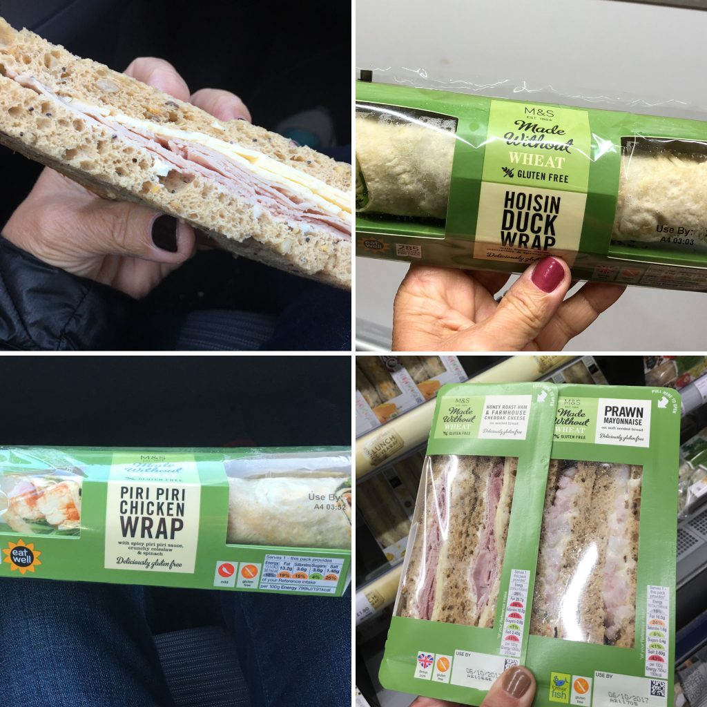 gluten free sandwiches uk