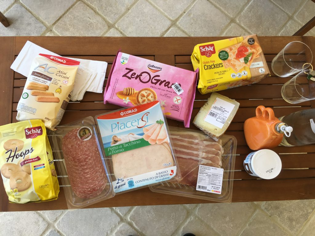 gluten free italy supermarket