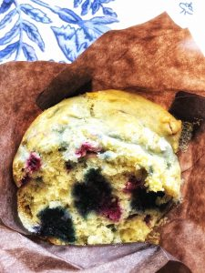 gluten free blueberry muffin