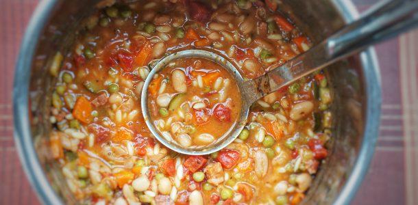 gluten free white bean soup instantpot