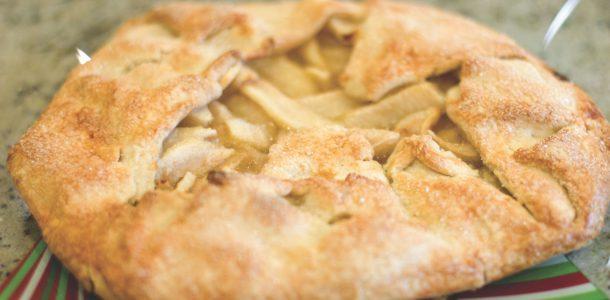 gluten free pear galette